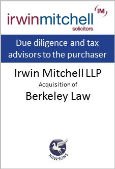 Deal: Irwin Mitchell acquires Berkeley Law - Hawsons advises