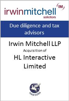 Deal: Irwin Mitchell acquires HL Interactive Limited - Hawsons advises