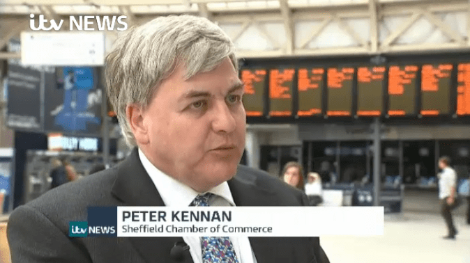 Peter Kennan ITV news
