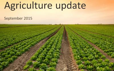 Agriculture update for UK farmers – September 2015
