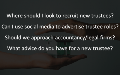 FAQ: A guide to trustee recruitment