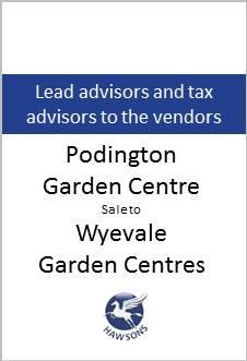 Podington Garden Centre deal