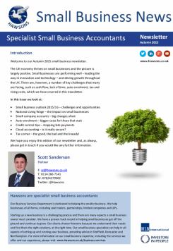 SME Autumn 2015 sector newsletter