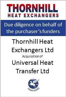 Thornhill heat exchangers ltd deal