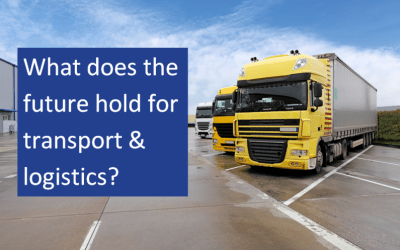 What does the future hold for transport & logistics?