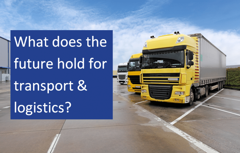 What does the future hold for transport and logistics