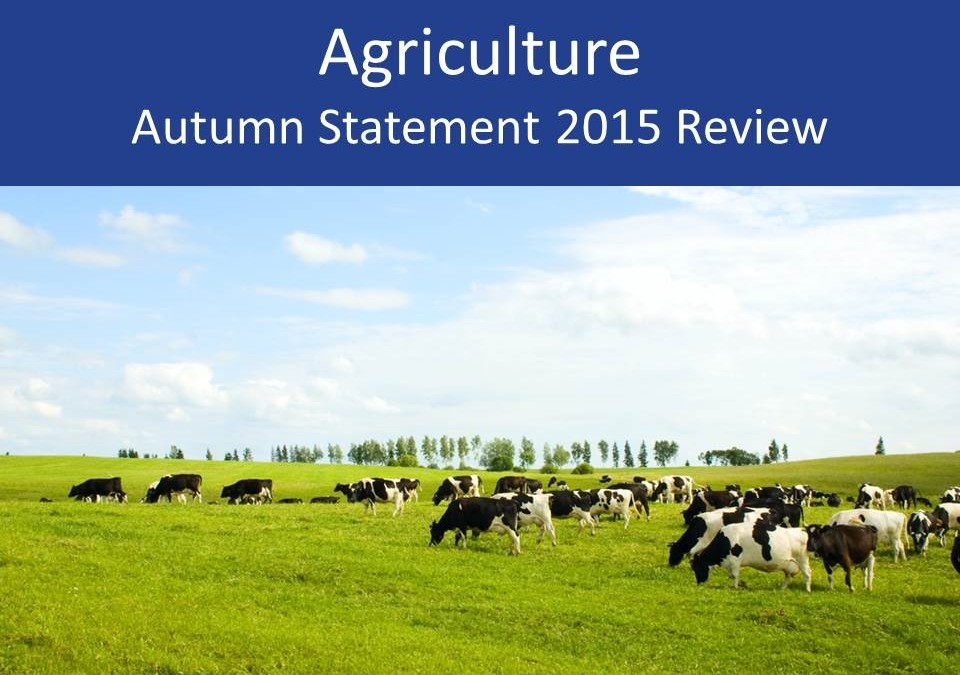 Agriculture Autumn Statement