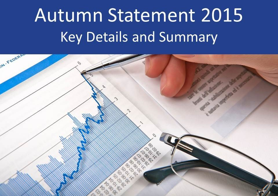 Autumn Statement 2015 – what you need to know