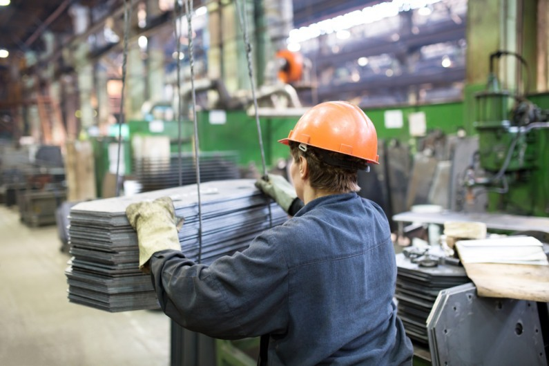 The decline of the British steel sector
