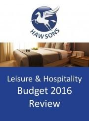 Hospitality Budget review