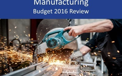 Manufacturing 2016 Budget review and analysis