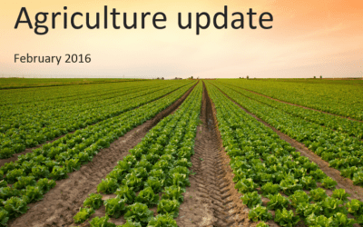 Agriculture update for UK farmers – February 2016