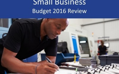 Small business 2016 Budget review and analysis for SMEs