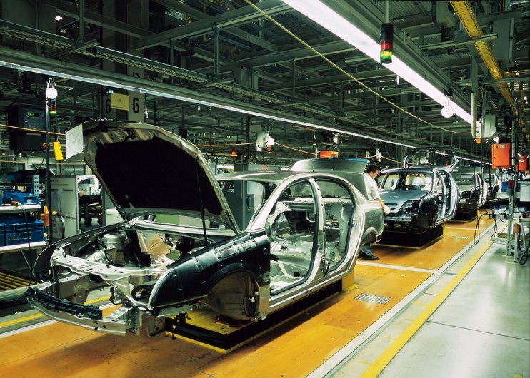 UK automotive driving the manufacturing sector