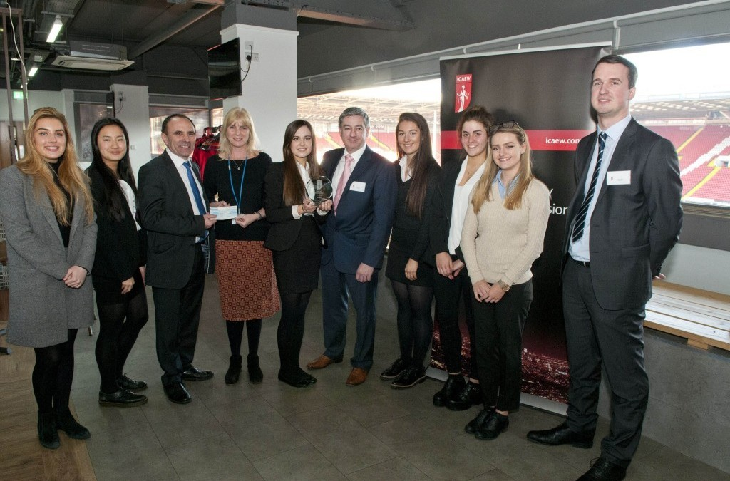 Hawsons support this year's ICAEW BASE competition in Sheffield