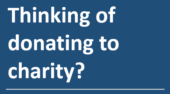Business benefits of donating to charity