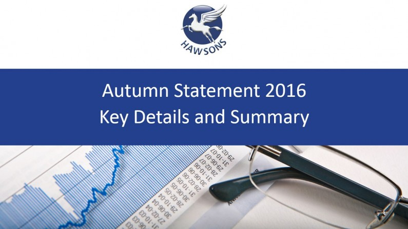 2016 Autumn Statement – what you need to know