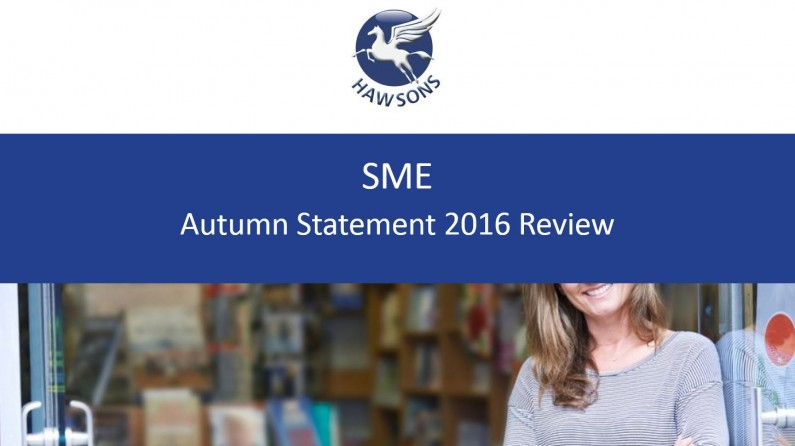 SME Autumn Statement 2016 review