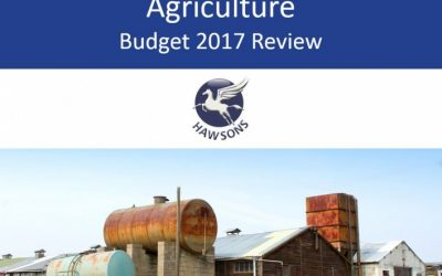Agriculture 2017 Budget review and analysis