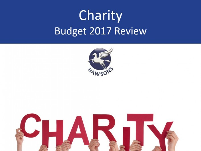 Charity 2017 budget
