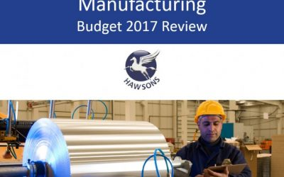 Manufacturing 2017 Budget review and analysis