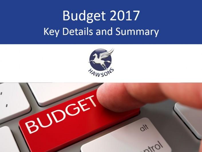 Budget 2017 summary