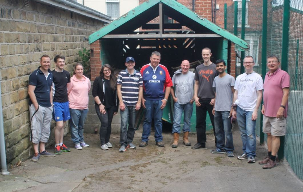 Staff from Hawsons Endeavour to help!