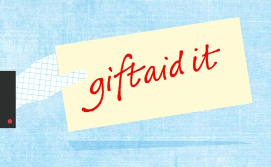 £560 million of Gift Aid goes unclaimed every year