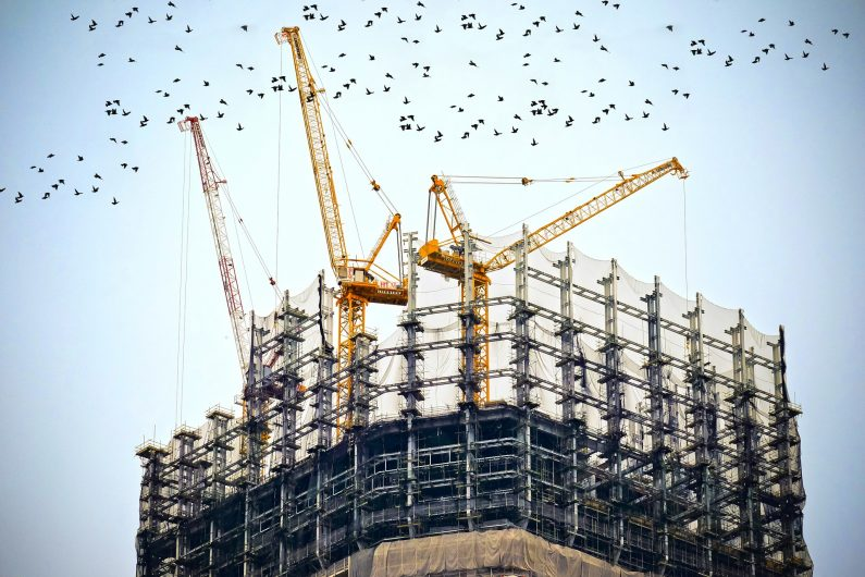 How will the VAT reverse charge for construction work?