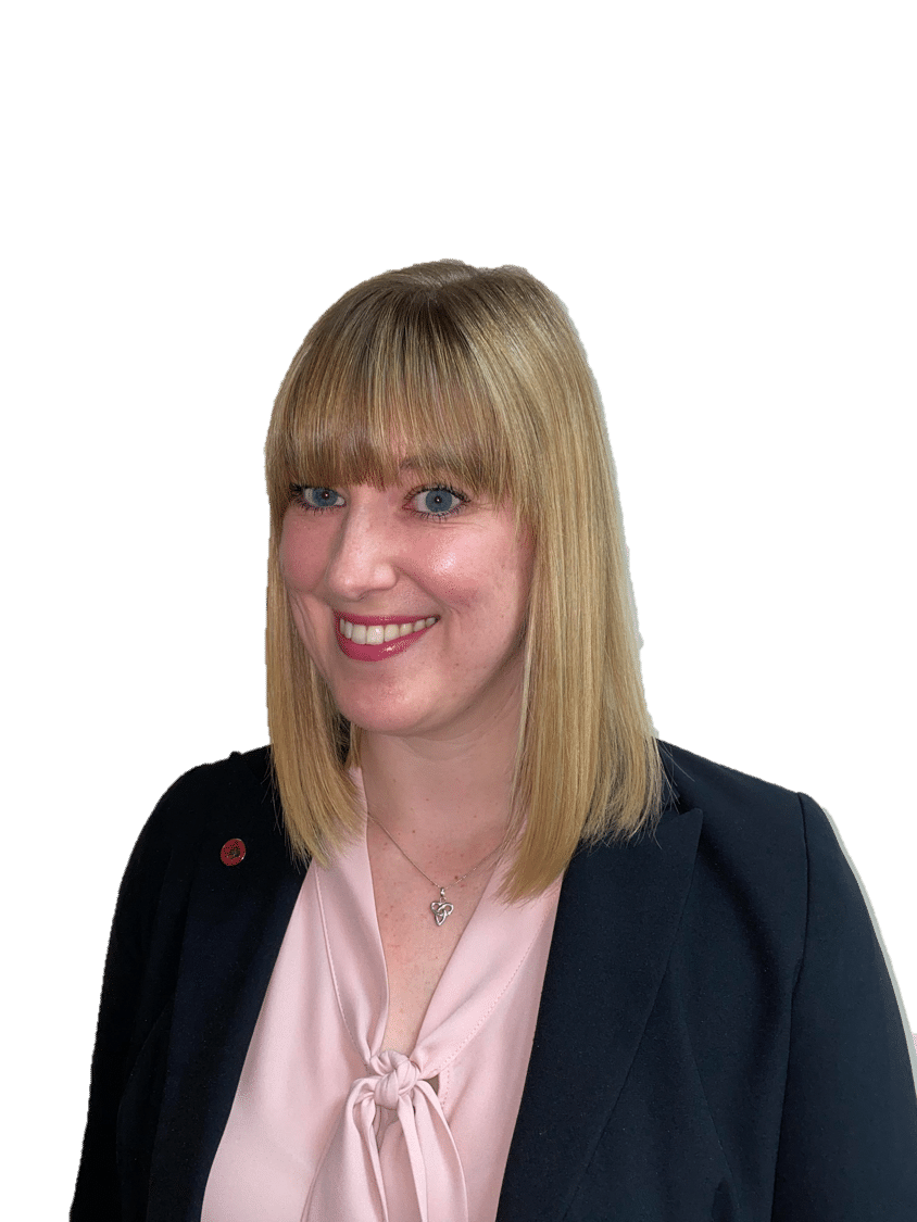 Emily Ball, Corporate Services Manager, Hawsons Northampton