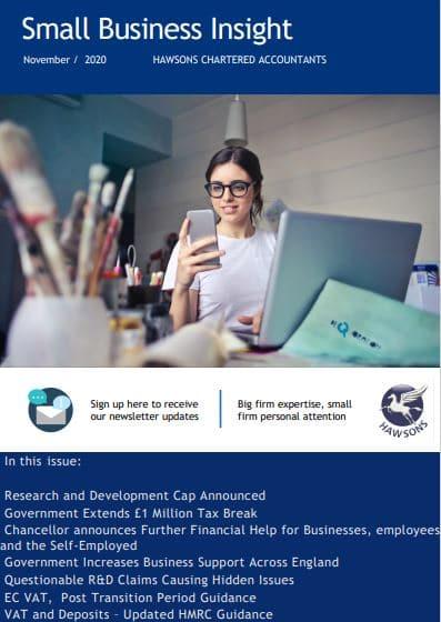 Small Business Newsletter November 2020