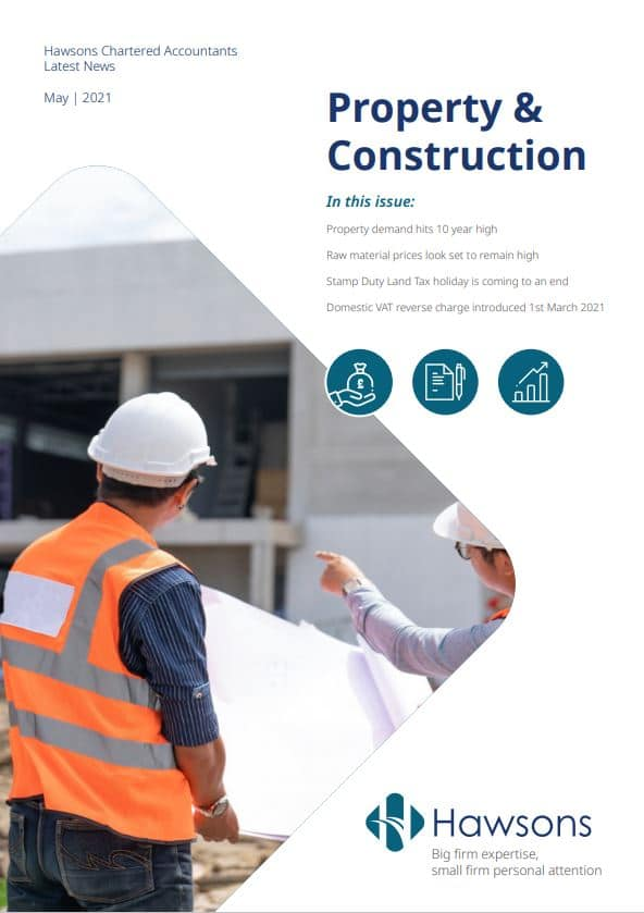 Property and Construction Newsletter May 2021