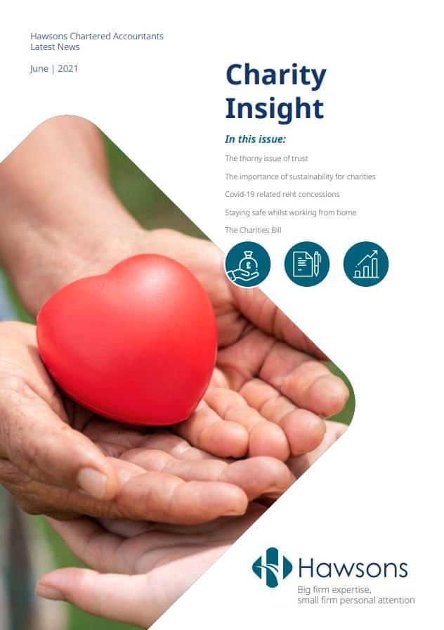 Charity newsletter June 2021