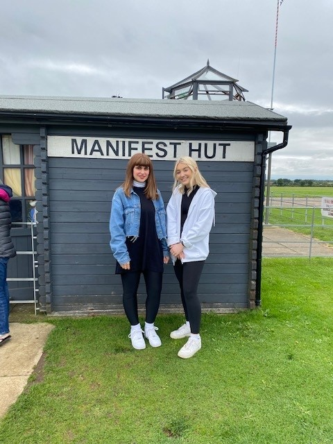 Charity Skydive with Hawsons